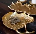 Metal Serving  Platters For Decoration