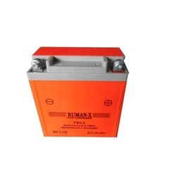 Rumax-X Rechargeable Battery, Capacity: 4.5 And 7.5, Voltage: 6v, 12v