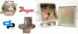 Dwyer 1626-1 Series 1620 Single and Dual Pressure Switch Range - .15-1.5 w.c.