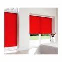 Red Roller Blind