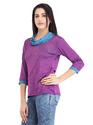 Cottinfab Women's Cowl Neck Top