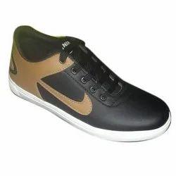 Lace Up Mens Casual Rexine Shoes, Size: 6-10