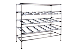 WIPL Chrome Plated Steel Pipe Rack