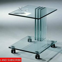 Transparent Plain Glass Toughened Glasses, Thickness: 12.0 mm, for Anywhere