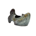 Silver Fish Pot