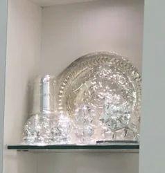 Silver Designer Plate