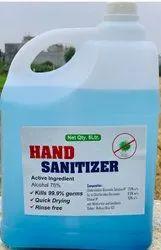 Hand Sanitizer 5Ltr For Hospital, Office, Factory