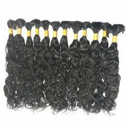 Bulk 100% Natural Wavy Hair