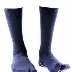 Pedder Johnson Gents Split Toe Navy Blue Anti-Slip Sock