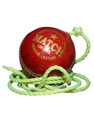 Match Red Practice Hanging Cricket Ball