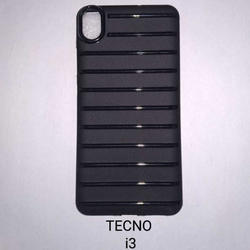 Black Mobile Cover, Packaging: Packet