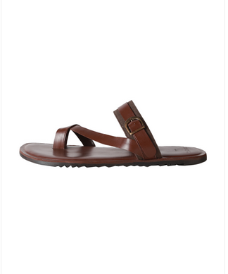 Men Van Heusen Brown Sandals 39b799a9a