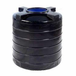 Black PVC Water Storage Tank