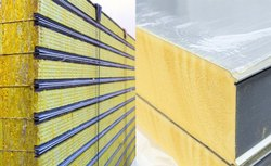 Canco Rockwool Panels, Thickness: 0.40 mm