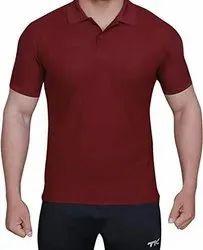 Cotton Plain Mens T Shirts, Size: Small to xxl