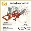 Garden Tractor Seed Drill, For Agriculture