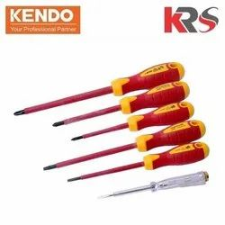 Insulated VDE Screwdriver Set With Tester