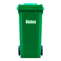 Wheeled Waste & Dust Bin 120 lit