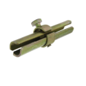 Carbon Steel Expanding Joint Pin Coupler, Shape: Round