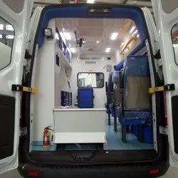 Ambulance Van interior designing