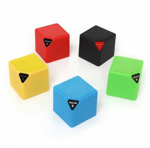 10 New Mini Bluetooth Speaker X10 Cube Led Speaker