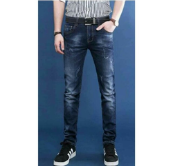 Branded Mens Tapered Fit Jeans