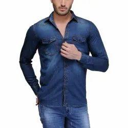 Maiya Collection M To Xxl Mens Denim Shirt