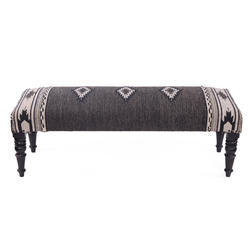 Rug Upholstered Living Room Wooden Bench