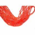 Orange Glass Bead