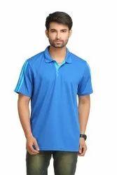 Adidas Men's Royal Blue Polo T-Shirt