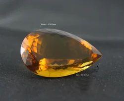 Whisky Quartz Pear Stone