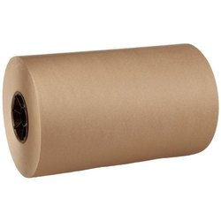 Plain Brown Packaging Kraft Paper Roll, GSM: 40-100