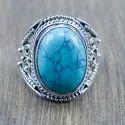 925 Sterling Silver Jewelry Labradorite Gemstone Ring