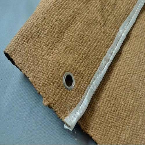 Vermiculite Coated Ceramic Fiber Fabric
