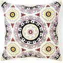 Designer Suzani Embroidered Cushion Cover