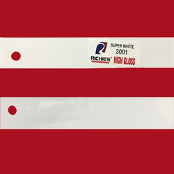 Super White High Gloss Edge Band Tape