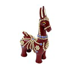 A Beautiful Decorative Metal Gifting Horse