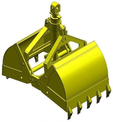 Hydraulic Clamshell Bucket Attachment