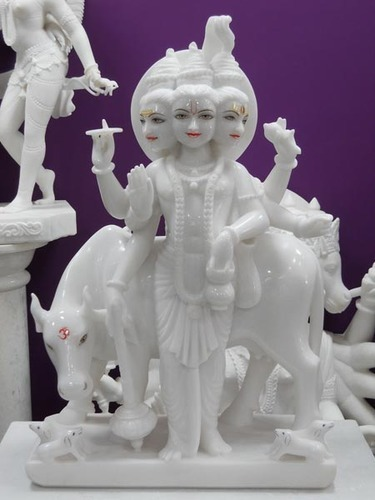 White Marble Temple God Statues For Worship, Rs 36000 /piece ...