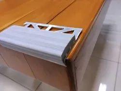 PVC Insert Aluminium Stair Nosing
