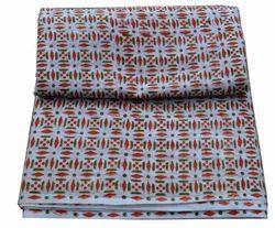Hand Block Printed Cotton Jaipuri Printed Fabric Indian Printed