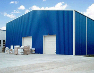 Metal Roofing Shed at Rs 125 /square feet | Industrial ...