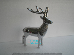 Aluminium Reindeer Figurine