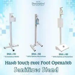Foot Operated Sanitizing Machine