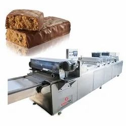 Protein Bar Sheeting and Cutting Machine