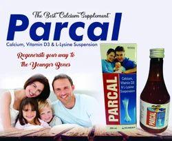 Calcium Vitamin D3 & L-Lysine Syrup