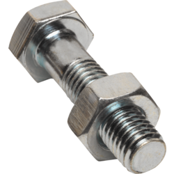 Steel Nut And Bolts