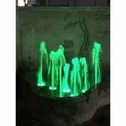Green Foam Water Fountain