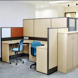 Modern 2 Seater Office Workstation