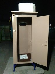 Fibre prefabricated toilet block